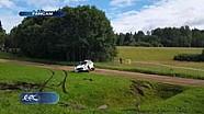 Rallye Estland: Crash von Katsuta