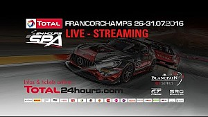 24h Spa: Pre-Qualifying live