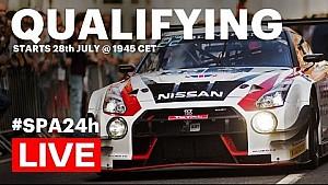 LIVE: Total 24 uur van Spa - kwalificatie