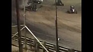 Bryan Clauson, Hard USAC, incidente a Belleville