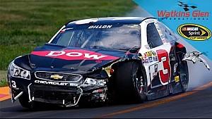 NASCAR: Grote crash op Watkins Glen