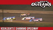 World of Outlaws Craftsman Late Models Shawano Speedway August 2nd, 2016 | HIGHLIGHTS