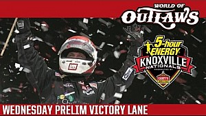 2016 World of Outlaws Craftsman Sprint Car Series Victory Lane | Knoxville Nationals | Night 1