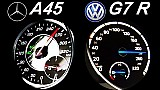 VW Golf 7 R vs. Mercedes A45 AMG