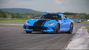 Viper ACR en la pista de Top Gear