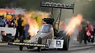 Tony Schumacher takes the No. 1 qualifying spot