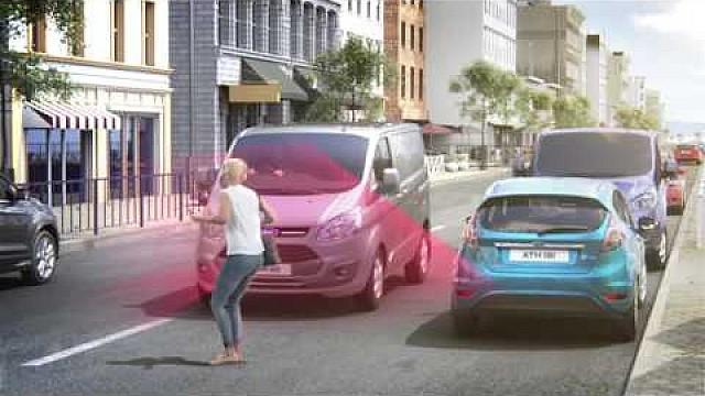 Meet the vans that can brake automatically for pedestrians if the driver doesn't