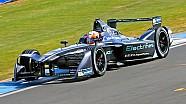 Primer vistazo: Jaguar coche de Fórmula E pretemporada de prueba