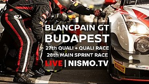 Blancpain GT Series - Budapest - 2016 - Main Race
