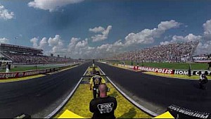 Watch the Top Fuel final from Indy with #MelloYello360