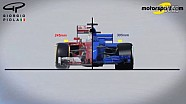 Giorgio Piola - 2017款赛车轮胎带来的变化