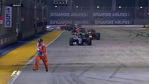 GP de Singapour - Un commissaire sur la piste !