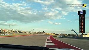 サーキット・オブ・ジ・アメリカズをポルシェ・ケイマンGT4で走行/ドライバー:マルク・リーブ