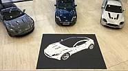 Atrium Art - Creating DB11 using owners guides | Aston Martin