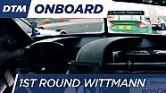 1st Round Onboard: Wittmann - DTM Budapest 2016