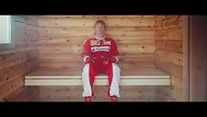 Witziger Werbespot mit Räikkönen