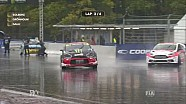 WK Rallycross: Solberg crash