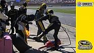 Flames cause close call for No. 19 crew