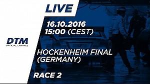 Прямой эфир: вторая гонка финала DTM 2016 в Хоккенхайме