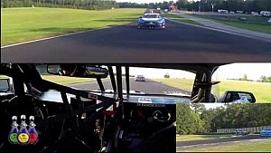 Shane Lewis in-car first lap at VIR