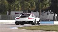 Parte 2 del test della Porsche 2017 GTE Le Mans a Sebring