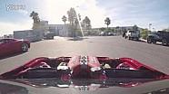 改装法拉利458引擎的丰田GT86与法拉利458漂移