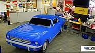Ford Mustang van Lego