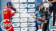 Fórmula E 360° momentos: HKT Hong Kong podio