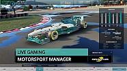 Le replay du live Motorsport Manager - Part 2