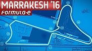 Marrakesh Track Map - Formula E