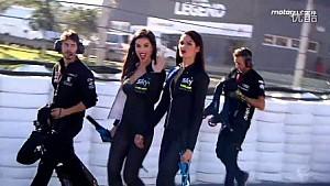 MotoGP 瓦伦西亚站赛车宝贝