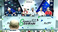Pre-Event Press Conference LMP1 - 6 Hours of Bahrain 2016