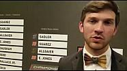 Entrevista Daniel Suárez en la ceremonia de premiación de Nascar