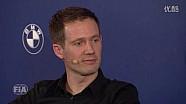 FIA 颁奖典礼 - 塞巴斯蒂安·奥吉尔采访