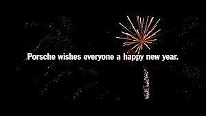 Feliz año nuevo de Porsche.