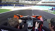 ROC, Ricognizione di pista con Vettel e Pastrana