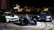 Detrás de cámara en Las Vegas Strip - Fórmula E