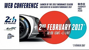 ACO/WEC web conference: Launch of the 2017 endurance season