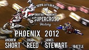 James Stewart, Chad Reed, Andrew Short Battle: Phoenix 2012