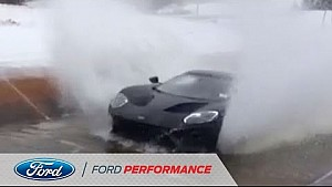 Ford GT Excels in Water and Splash Test | Ford GT | Ford Performance