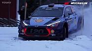 WRC-2017瑞典拉力赛-第一天精彩慢镜头
