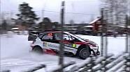 WRC-2017瑞典拉力赛-第二天比赛精彩集锦(上半部分)