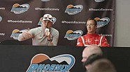 Rahal and Bourdais Saturday Phoenix Open Test News Conference