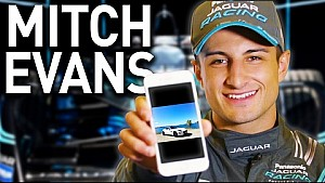 What's On Mitch Evans's Phone? - Formula E