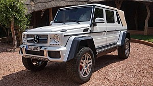 Let's Explore the Mercedes-Maybach G 650 Landaulet