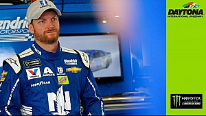 Dale Jr. reacts to first practice laps of 2017 season