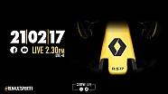 Live presentatie: Renault F1 R.S. 17