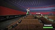 Atlanta Supercross - Kawasaki Track Map 2017