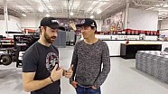 James Hinchcliffe y Robert Wickens intercambian paseos en 2017