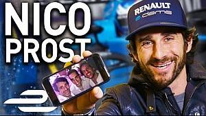 Formula E车手尼古拉斯·普罗斯特手机内容大揭秘